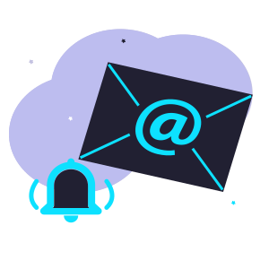 Daily email notification service illustration